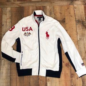 Men's Ralph Lauren USA Ocean Challenge Zip Jacket